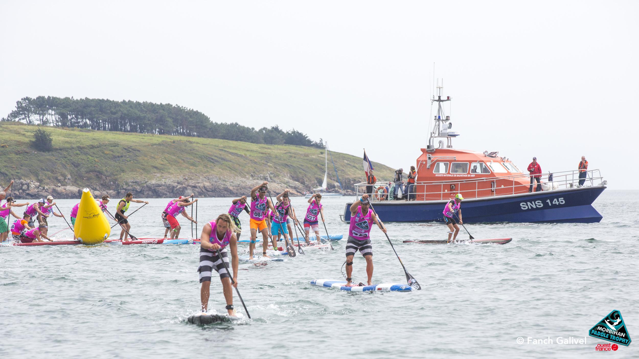 Morbihan Paddle Trophy 2015