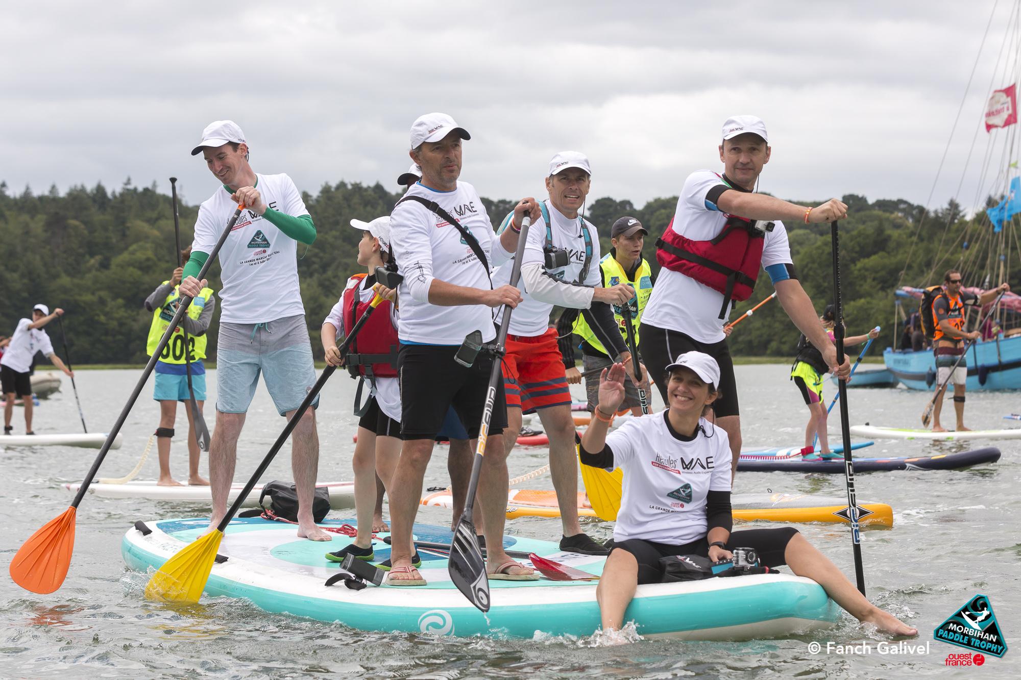 Morbihan paddle Trophy 2017