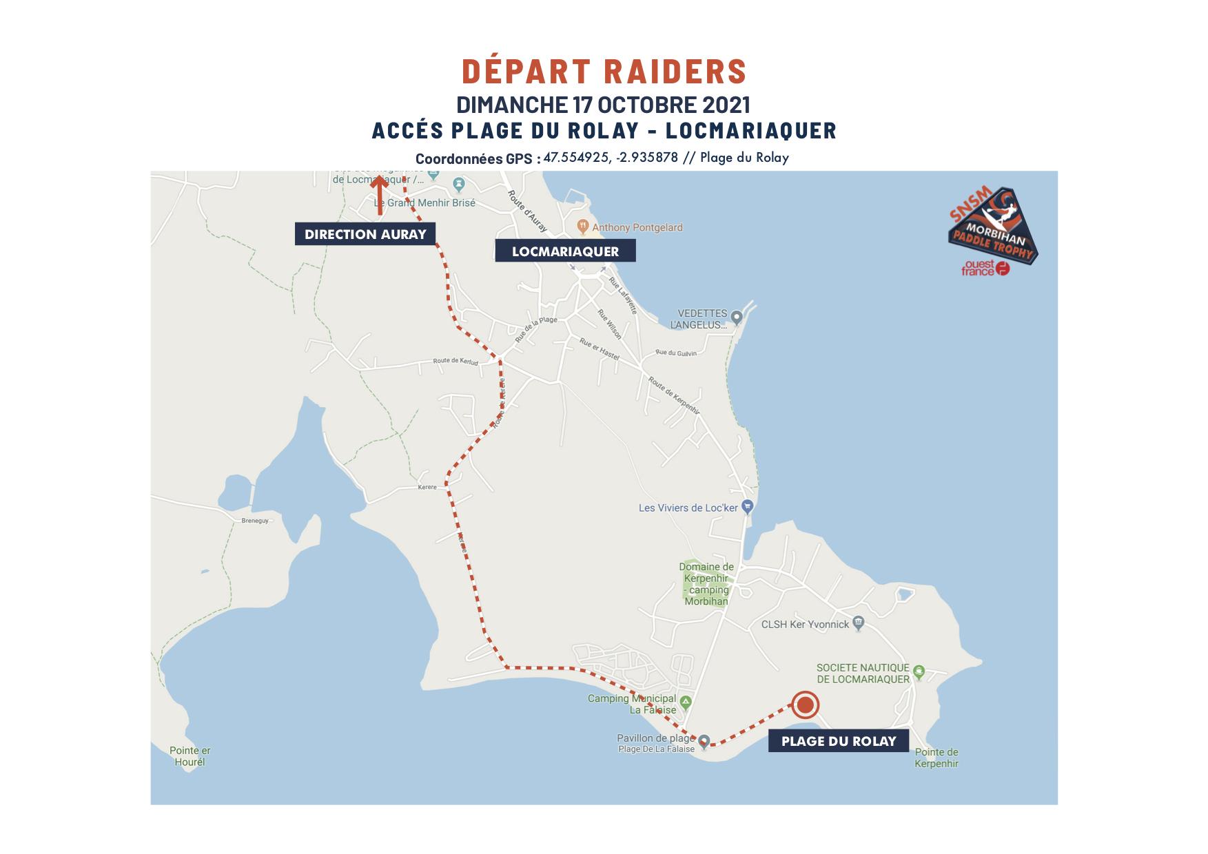 De-part Raiders Plan A 16 et 17 oct